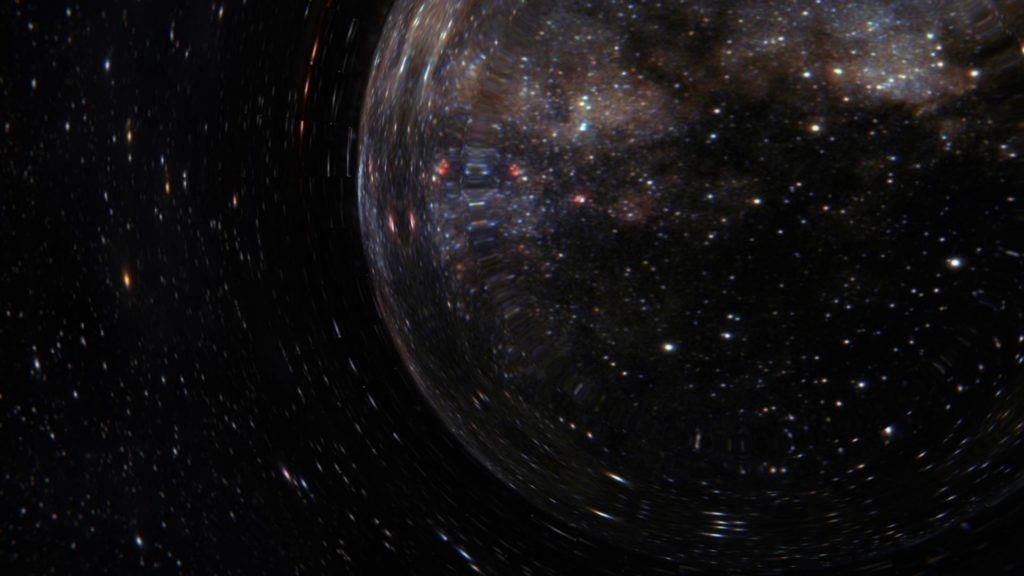 What Would It Be Like To Enter A Wormhole?