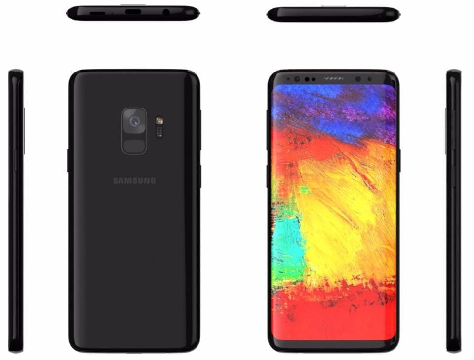 All profiles of the Galaxy S9
