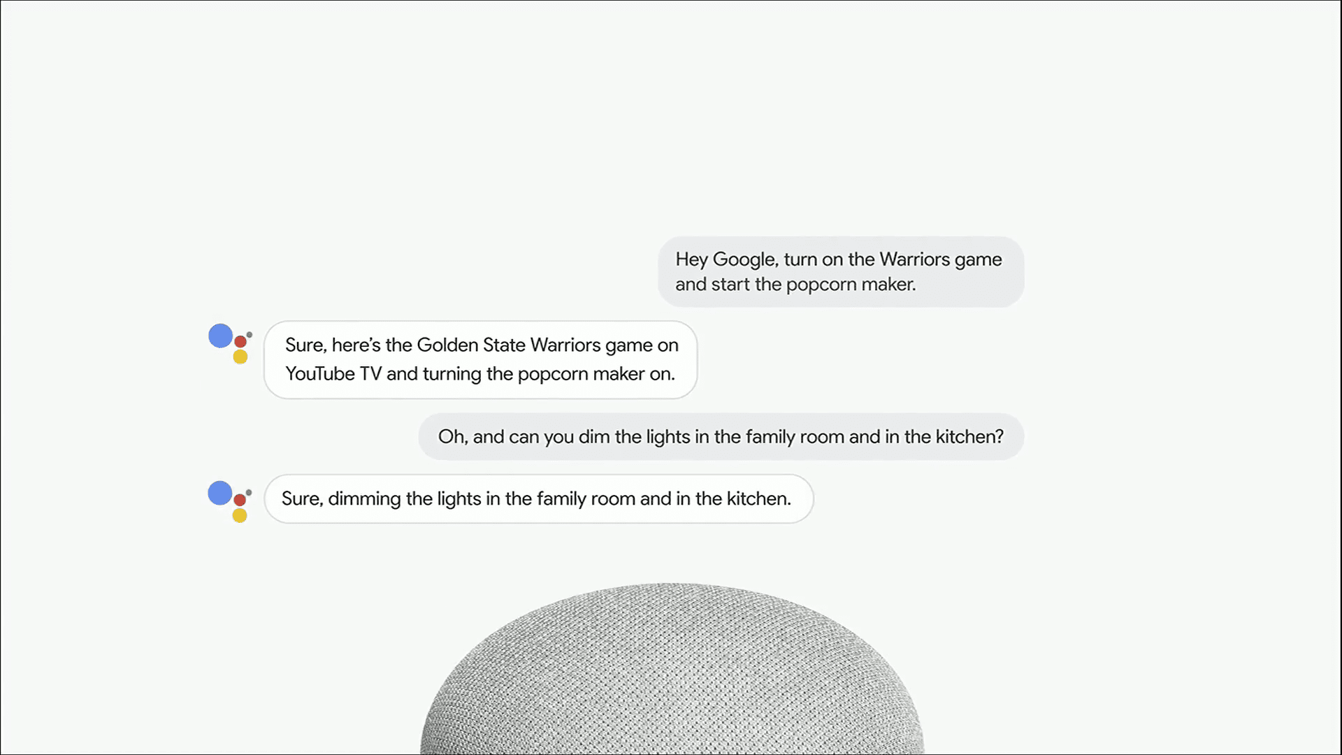 Continued Conversation and Multiple Actions in Google Assistant