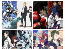 Anime Round Up for Spring 2018