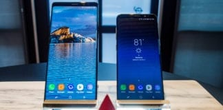 Galaxy S9 and Note 8