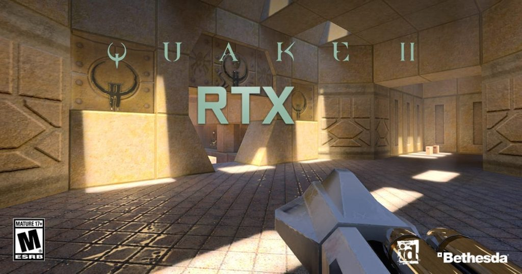 Nvidia giving Quake II RTX for Free; Wolfenstein: Youngblood to support RTX