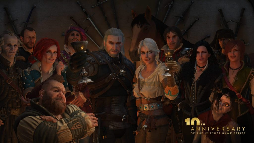 The Witcher Franchise 10th Anniversary Celebration
