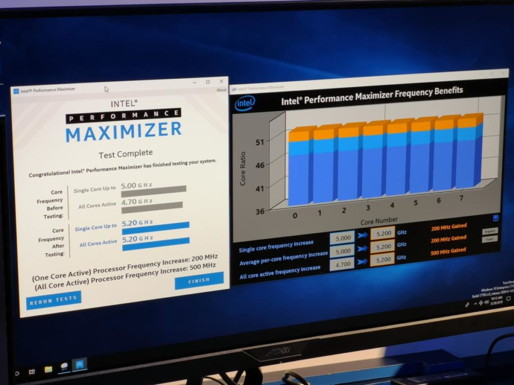 Intel performance maximiser