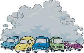 Motor vehicles are one of the primary causes of air pollution.