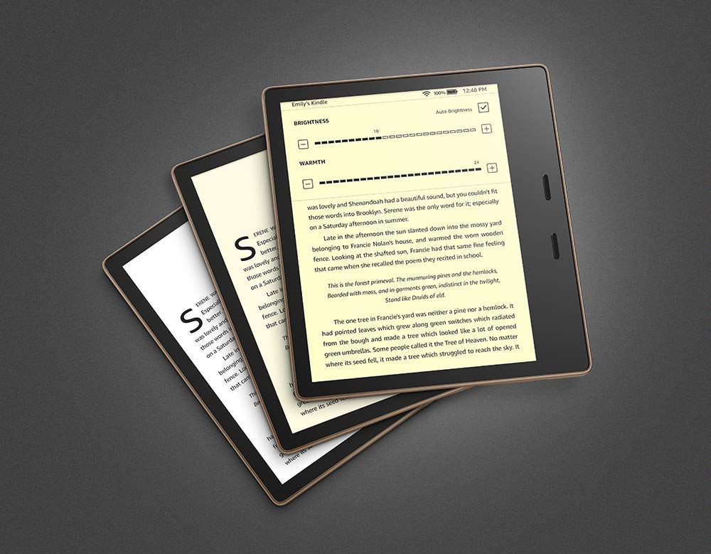 The all-new Kindle Oasis (10th Gen), now with an adjustable warm light, just launched