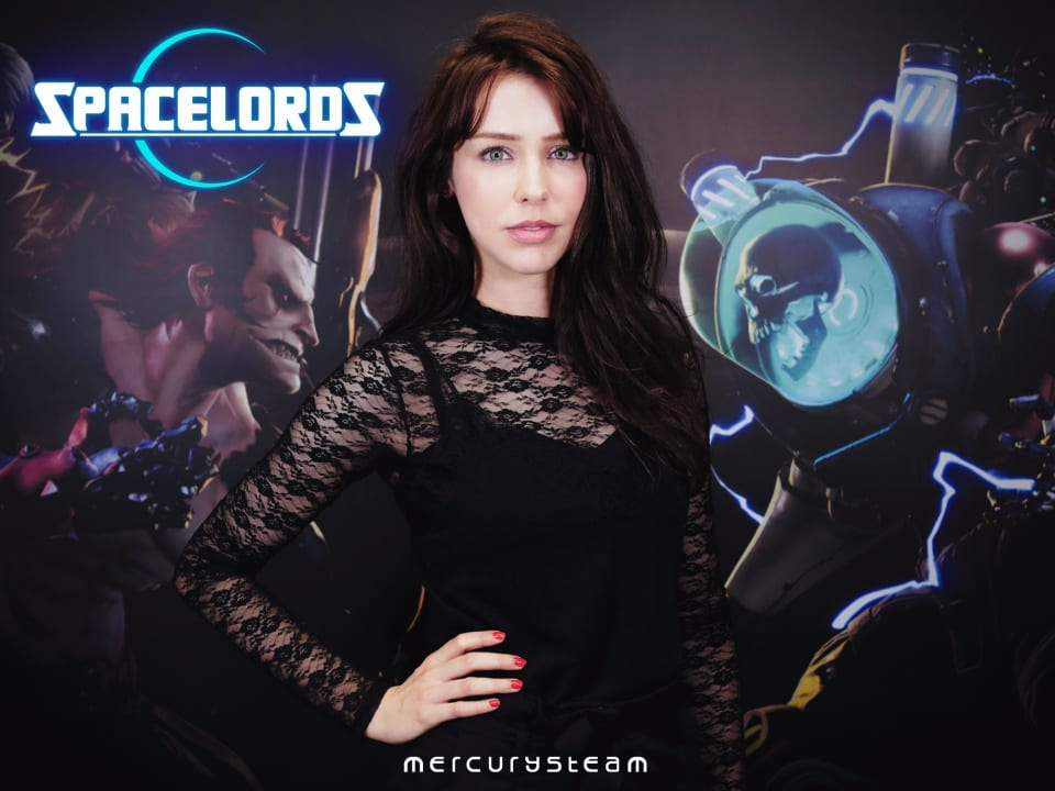 Sööma, a character played by Stefanie Joosten('Quiet' from MGSV), available for download in Spacelords