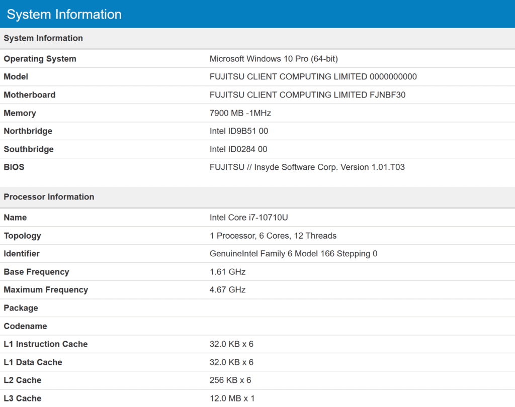 Intel 10th Gen Comet Lake-U Mobile CPUs will Have up to 6 Cores/12 Threads @ 4.7GHz