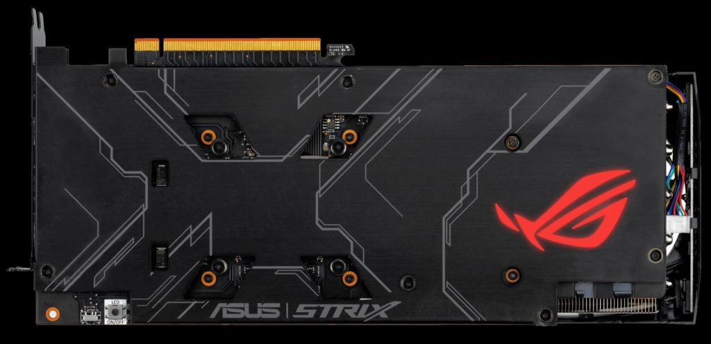 ROG Strix RX 5700 back plate
