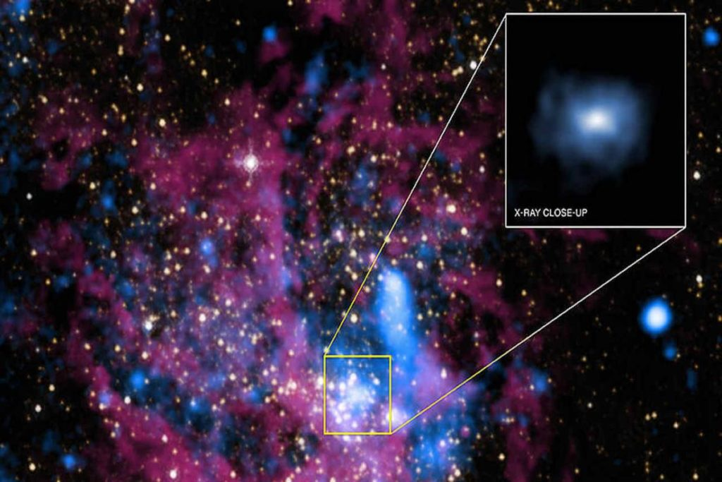 Black Hole Emits Strange Flashes Baffling Astronomers
