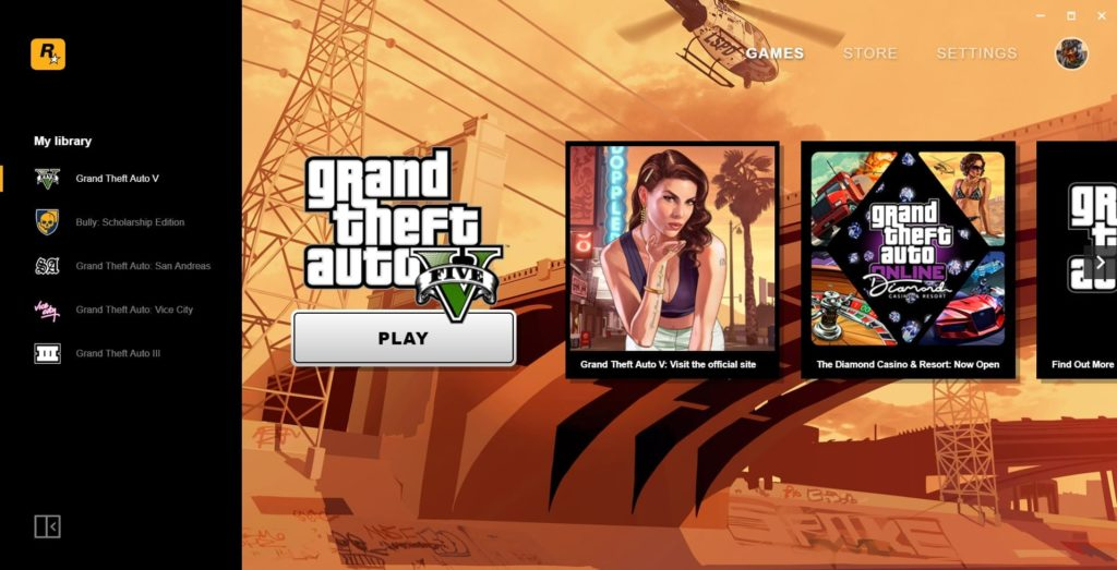 Download the Rockstar Games Launcher, get San Andreas for Free!