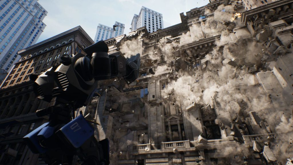 Unreal Engine V 4.23 takes environmental destruction to the next level