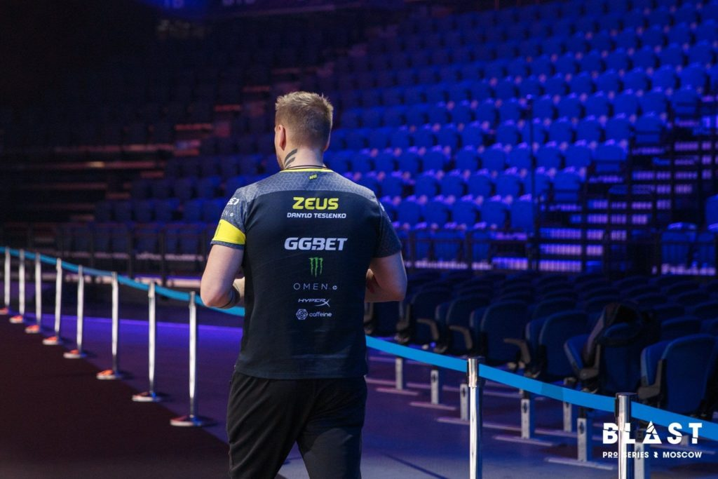 Roster Move zeus leaves navi