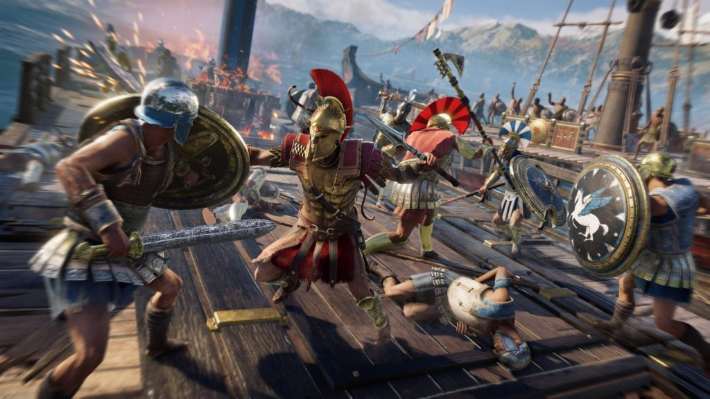 Naval combat in Assassin's Creed: Odyssey