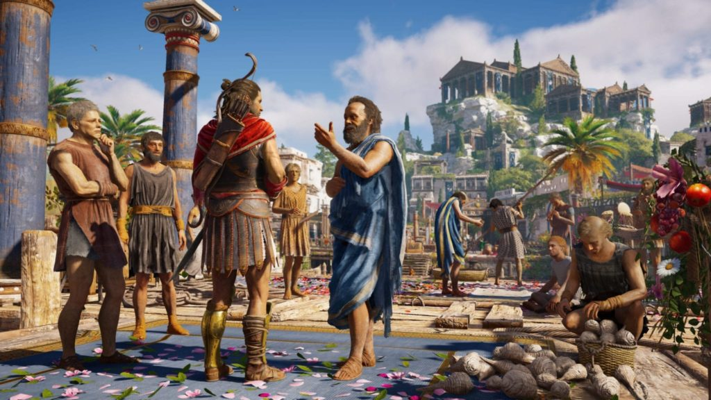 Socrates in Assassin's Creed: Odyssey