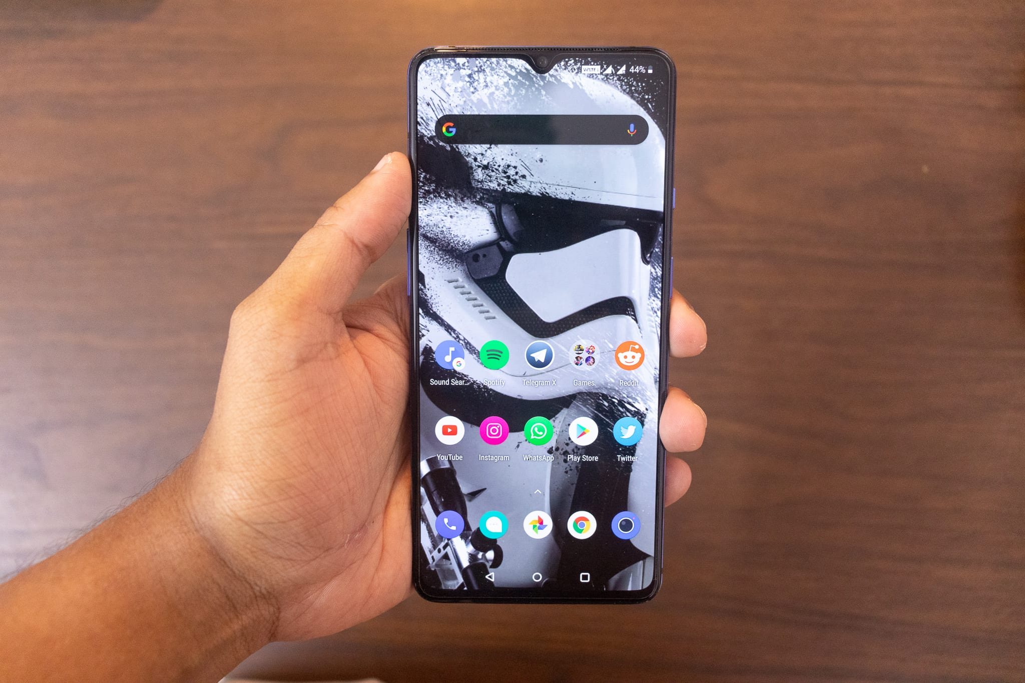 Oneplus 7T With Teardrop Notch
