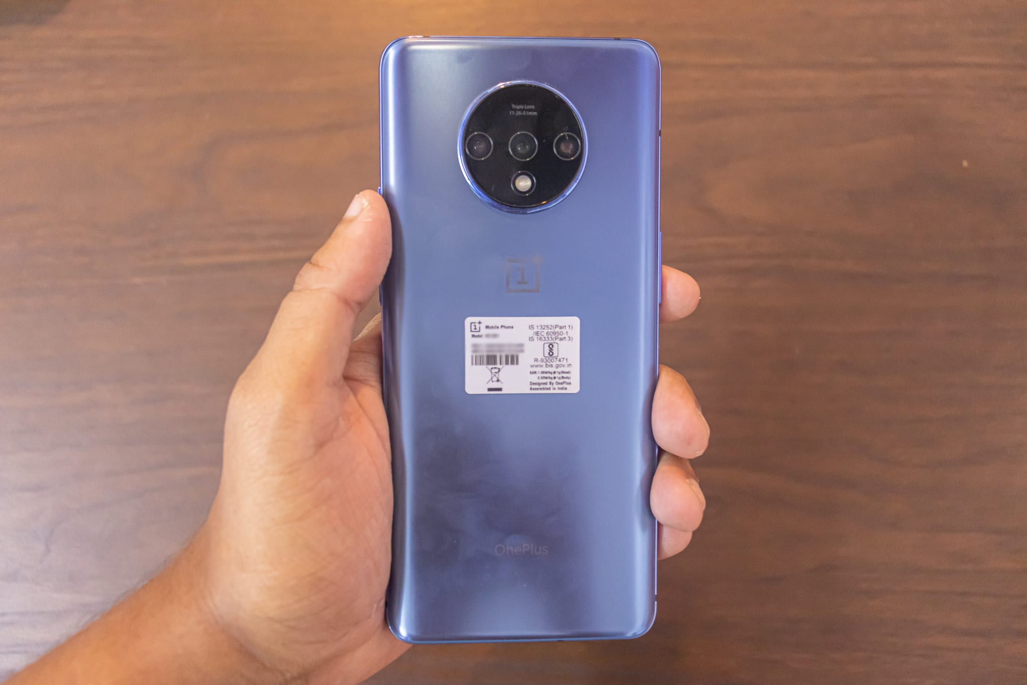 Oneplus 7T Triple Lens Camera