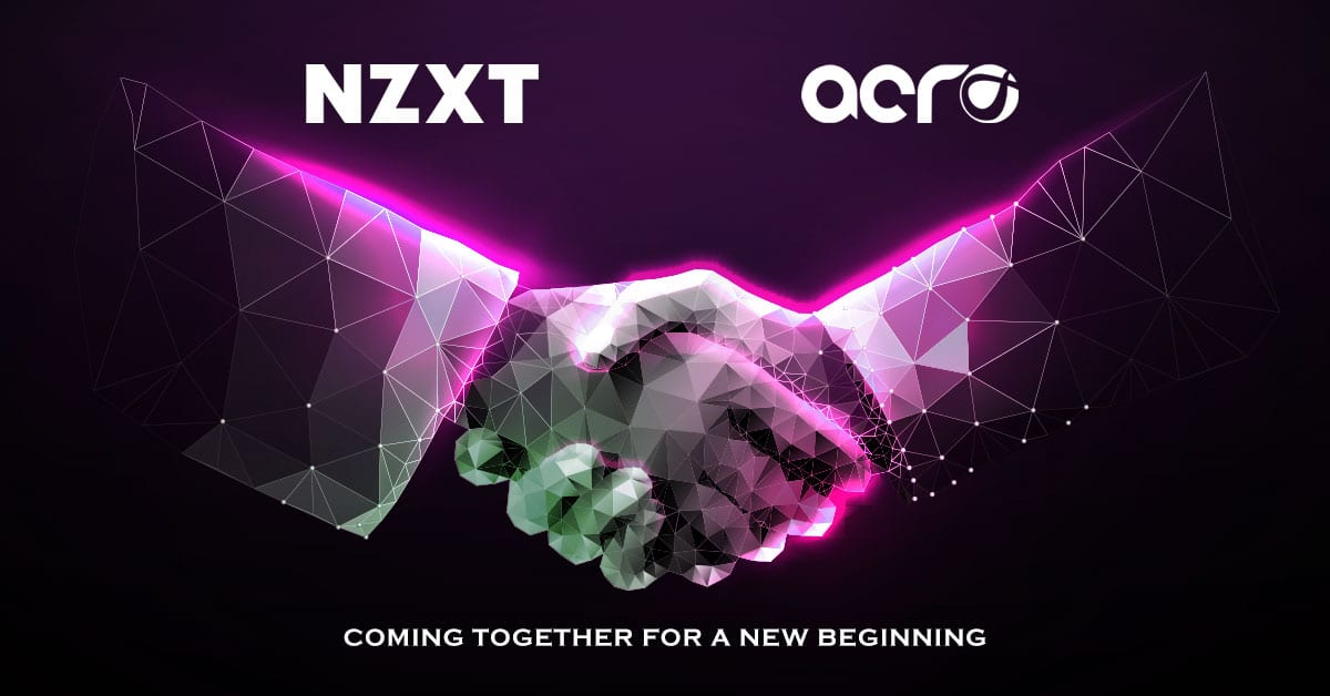 NZXT Announces Partnership with Acro as Distributing Partner in India