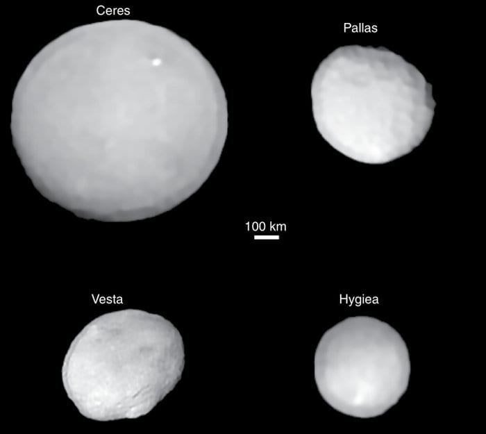 Astronomers May Have Found The Smallest Dwarf Planet Named Hygiea
