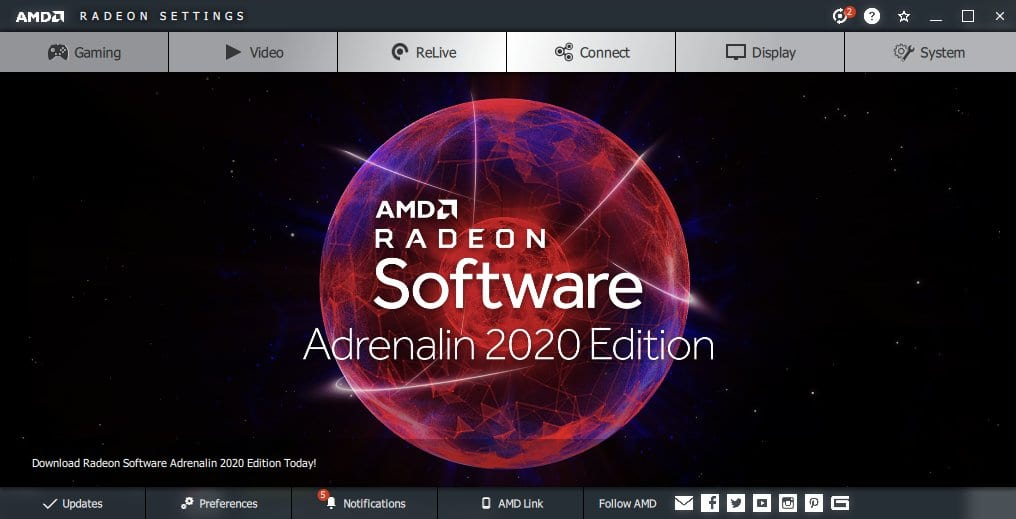 AMD Adrenalin 2020 Edition Leaks Out: Radeon Boost to Supercharge your Gaming Experience