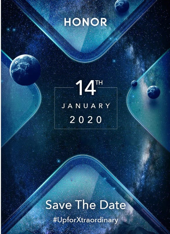 honor 9x save the date invite