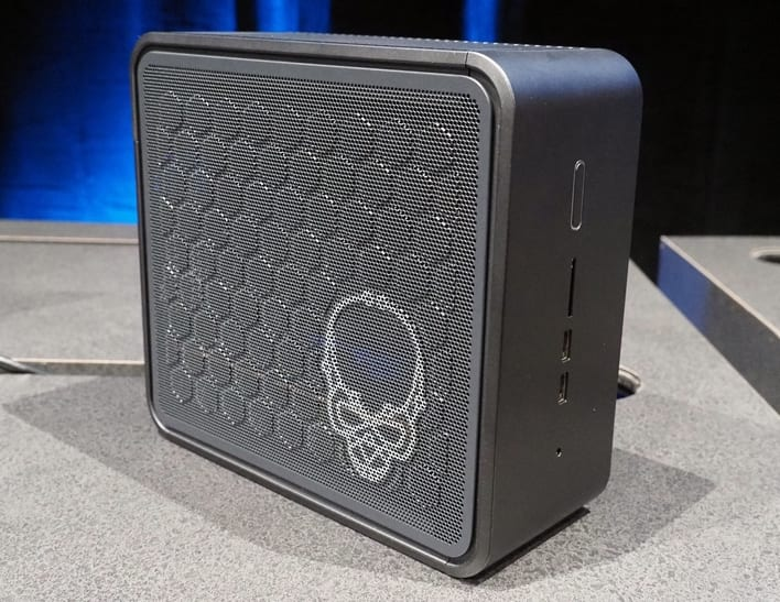 The Intel NUC 9 Extreme...