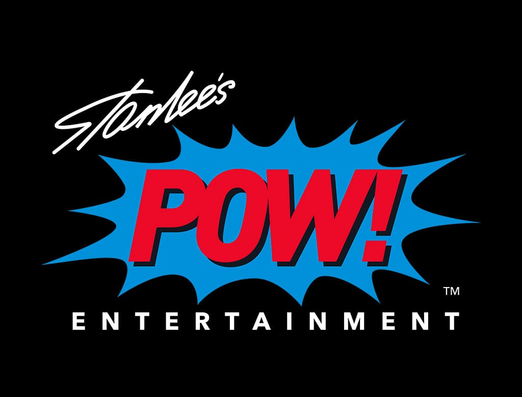 stan lee pow entertainment logo