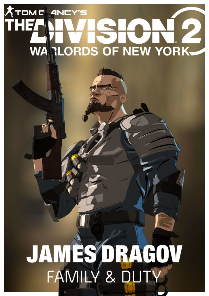 Division 2 Warlords of New York Artwork