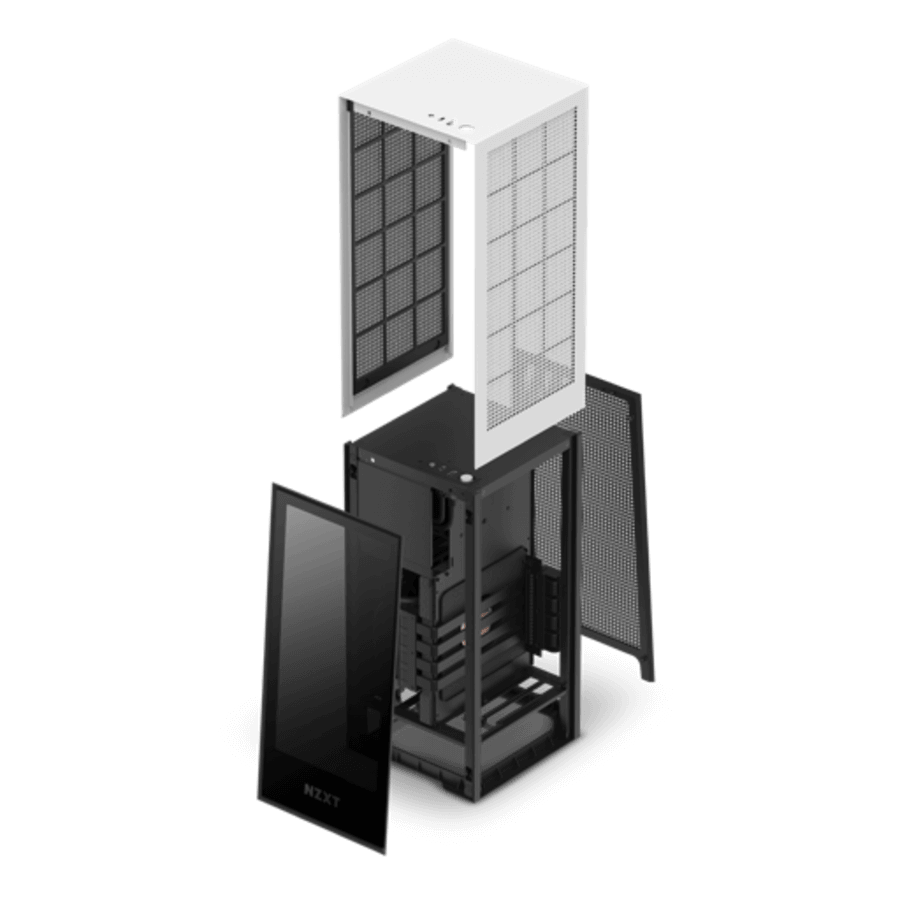 NZXT H1 Mini-ITX Case Opened