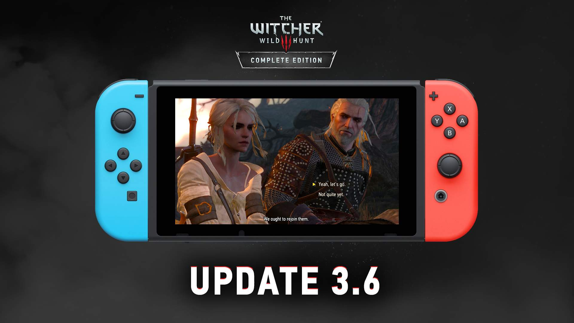 The Witcher 3 Nintedo Switch