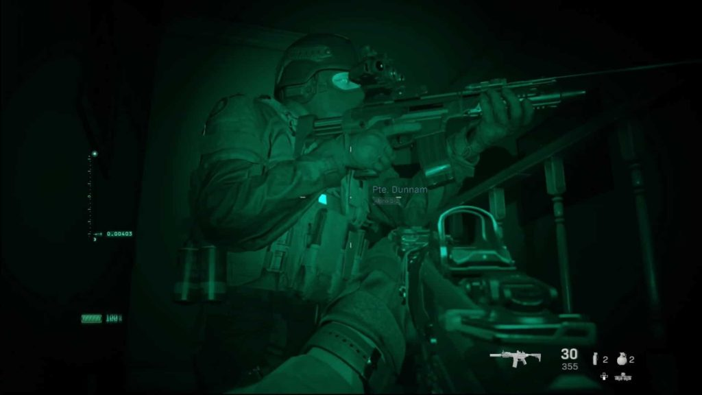 Night Mission - Clean House in Call of Duty Modern Warfare