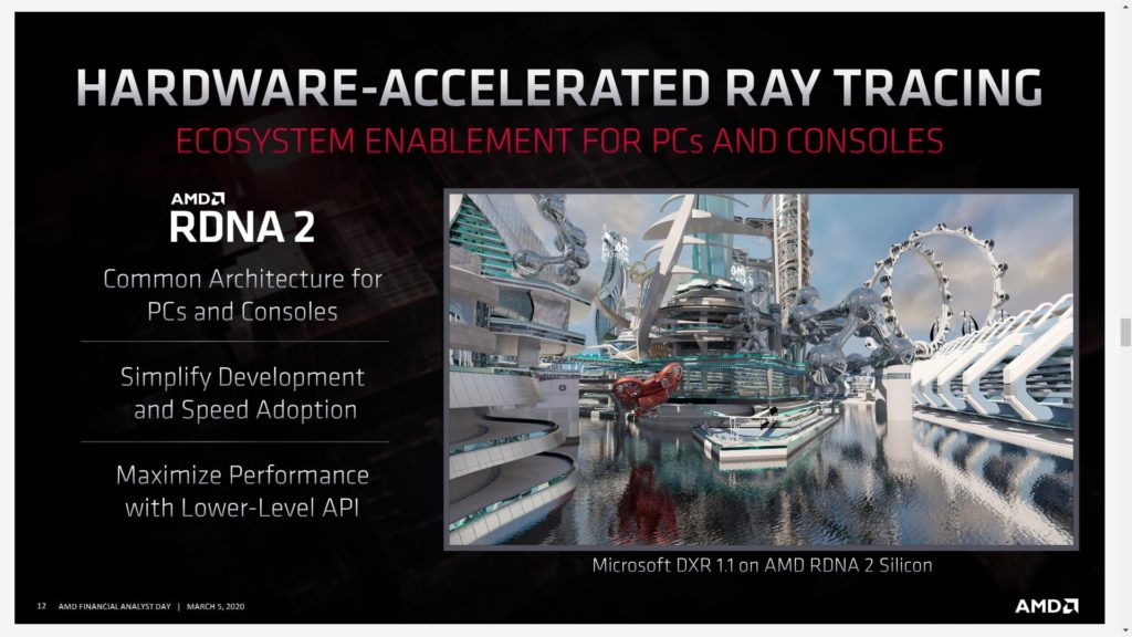AMD RDNA 2 Architecture in both consoles and PCs | Big Navi incoming