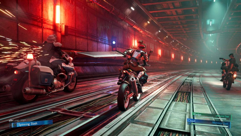 Final Fantasy 7 Remake Assets motorbike