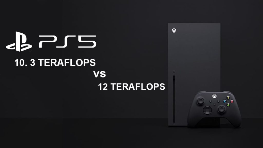 GPU Teraflops PS5 vs Xbox Series X