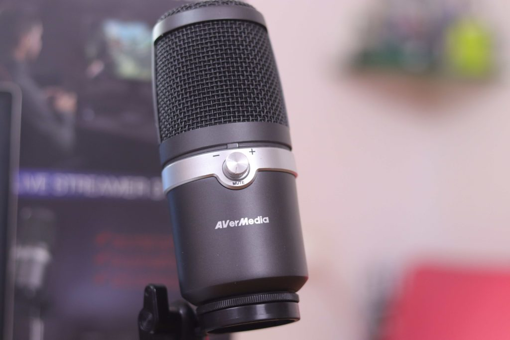 Avermedia AM310 USB Microphone Front