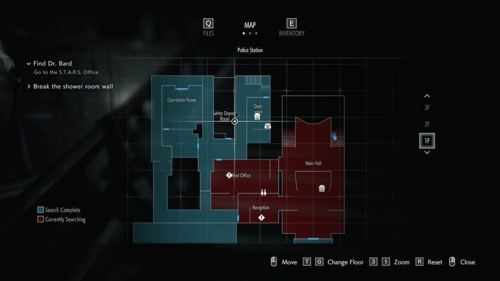 Map Design in Resident Evil 3