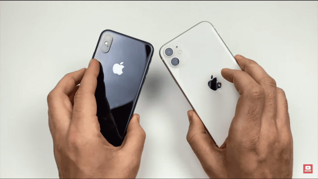 iPhone XS and iPhone 11
