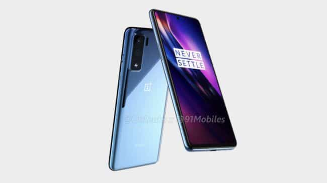 oneplus 8 series curved display and a punched hole selfie camera