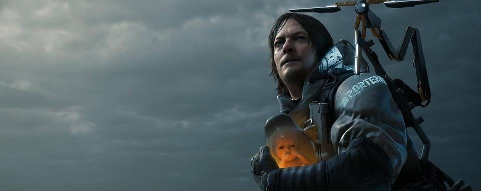 Norman Reedus in Death Stranding