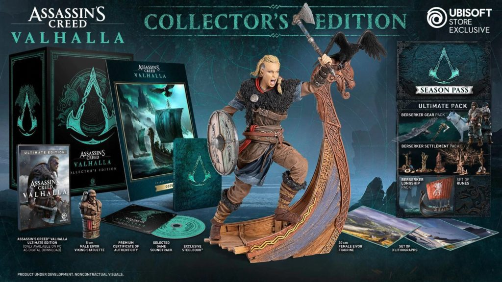 Assassin's Creed Valhalla Collector's Edition - Eivor female