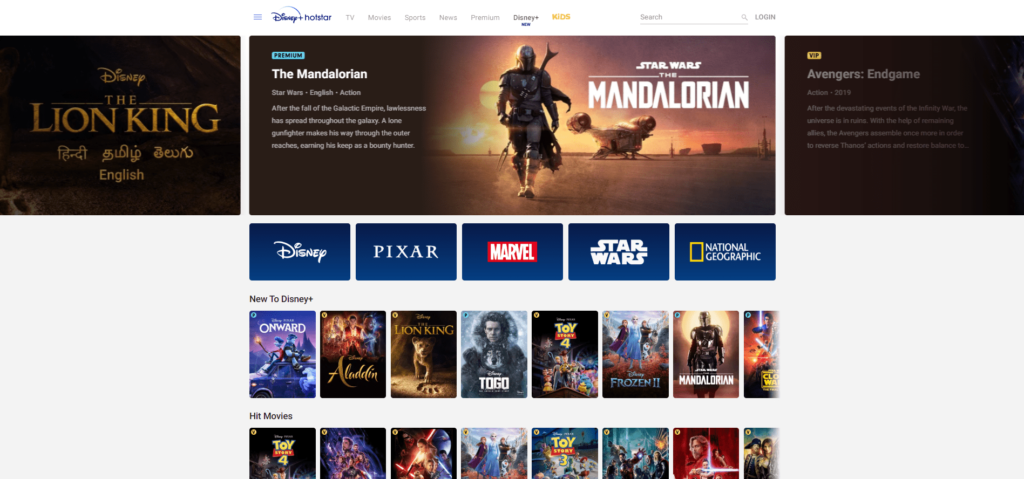 Disney+ Launches in India Through Hotstar with a Host of New Content