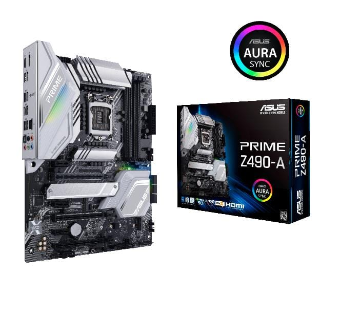ASUS Announces Z490 Motherboards For Intel 10th-Gen Comet Lake CPUs