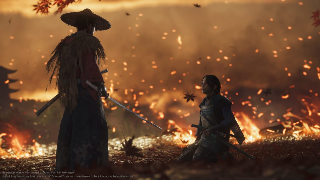 Ghost of Tsushima battle