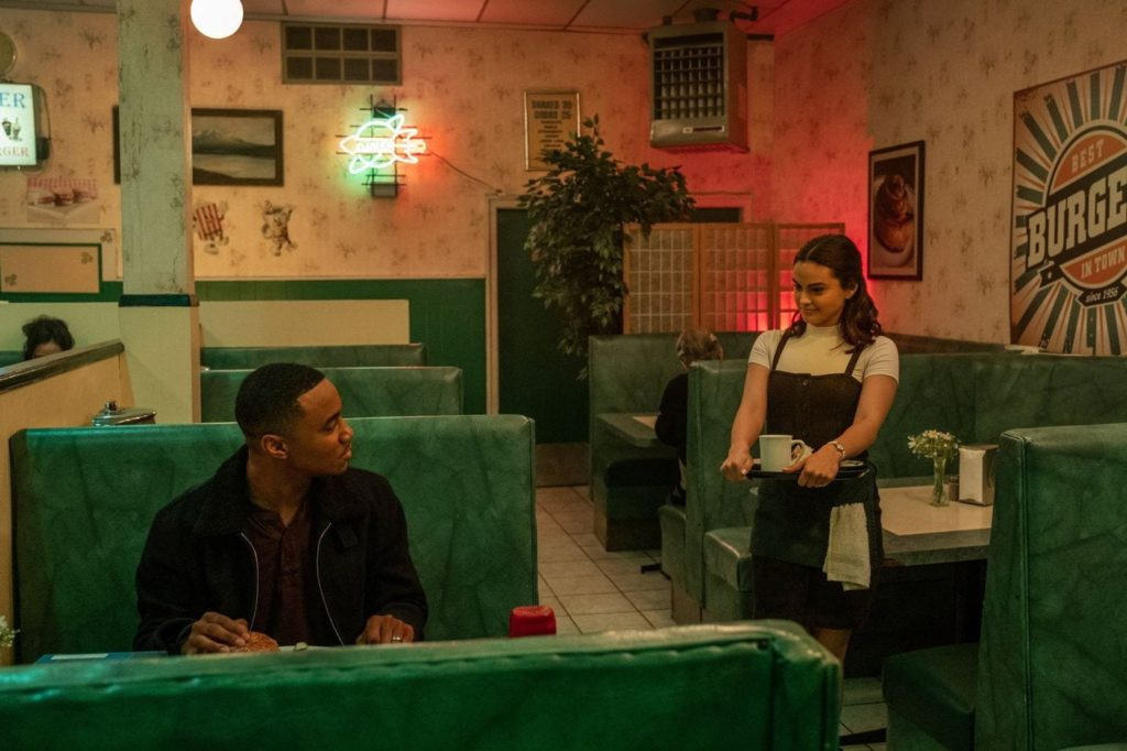 Camila Mendes and Jessie T. Usher Dangerous Lies