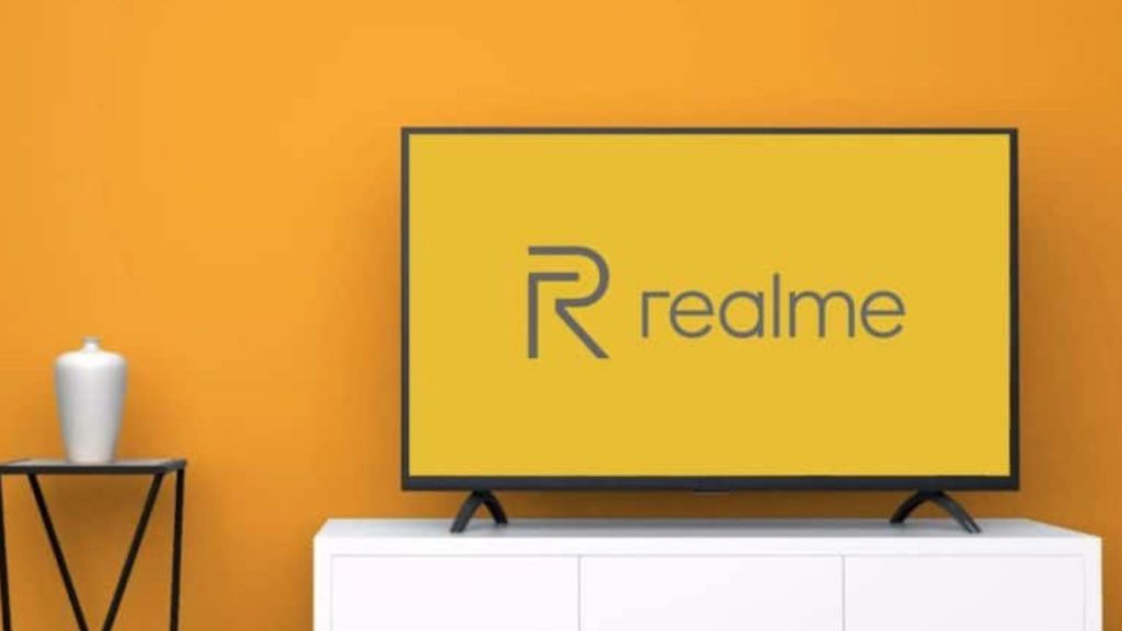 Realme TV Render - Credit: GizChina
