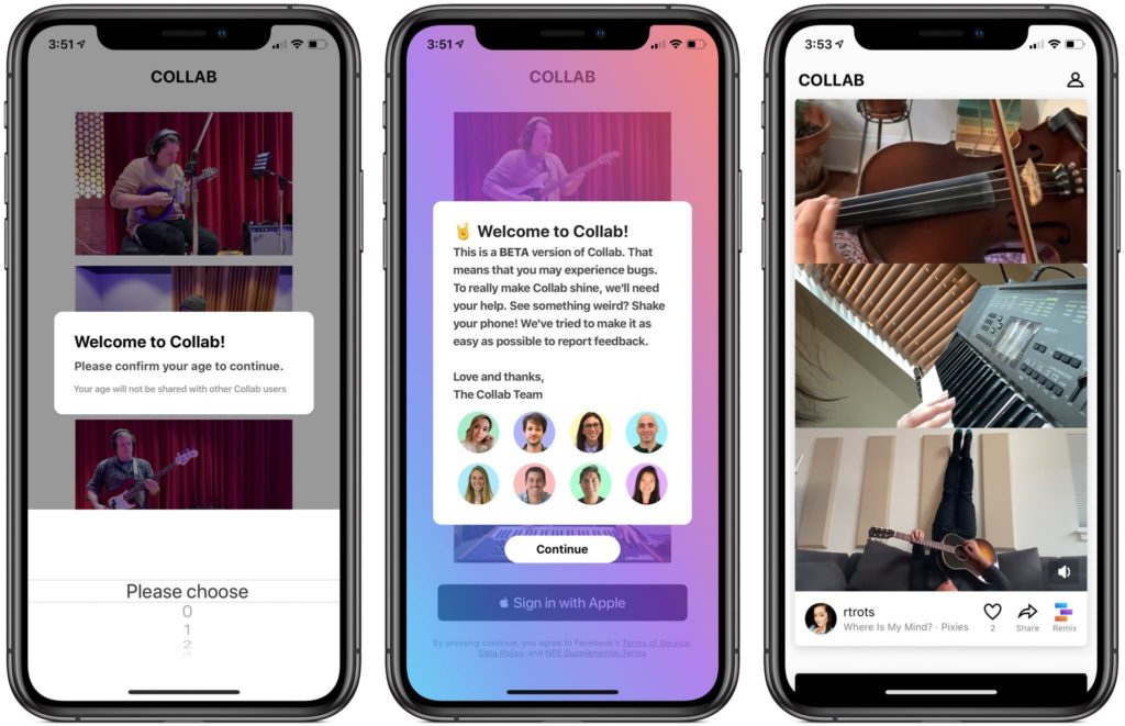 Collab by Facebook is the New App Which Will Compete with TikTok