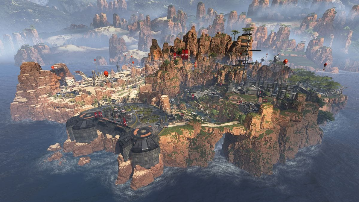 apex legends caynon map