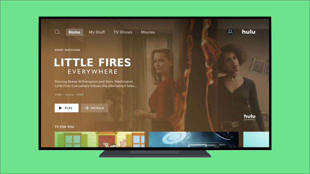 Hulu Redesigns User Interface for Better Navigation Through the App