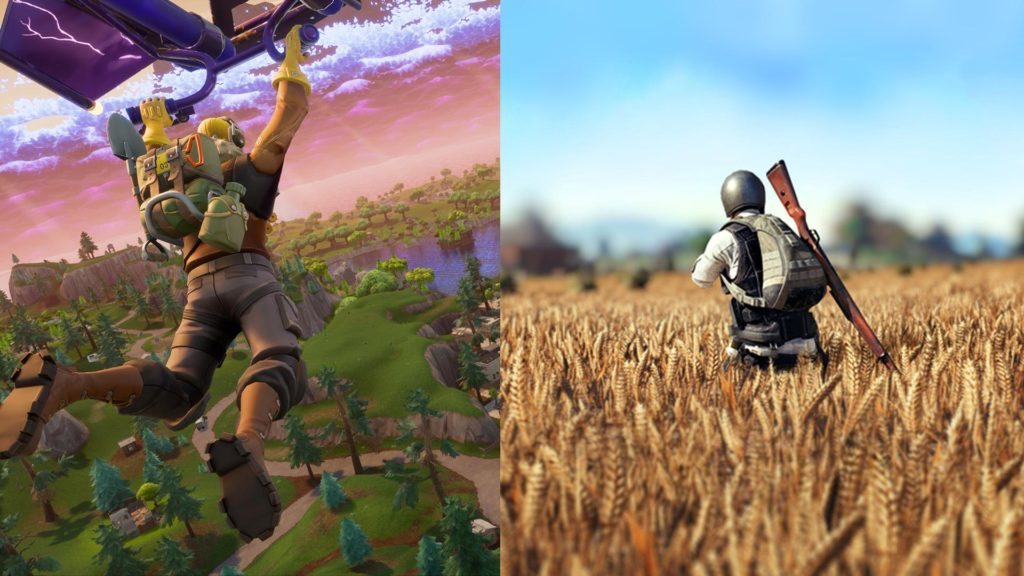 fortnite vs pubg graphics