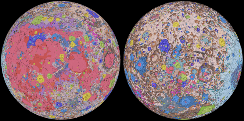 The Most Comprehensive Map of The Moon Yet